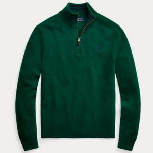 Polo Ralph Lauren Knit 1/4 zip Sweater Large